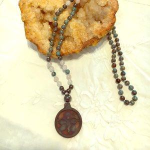Jewelry - Mala Necklace,; Bohemian Necklace